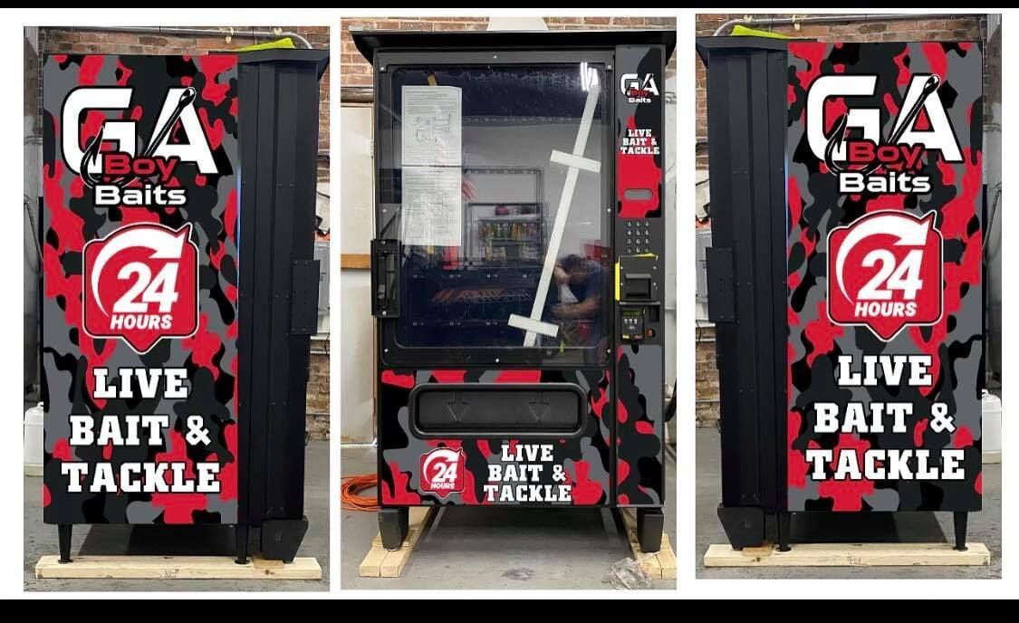 GA Boy Baits vending machine launched in Adel