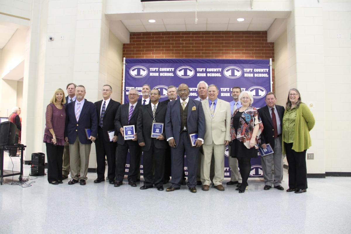 3rd Class Honored At Hall Of Fame Ceremony