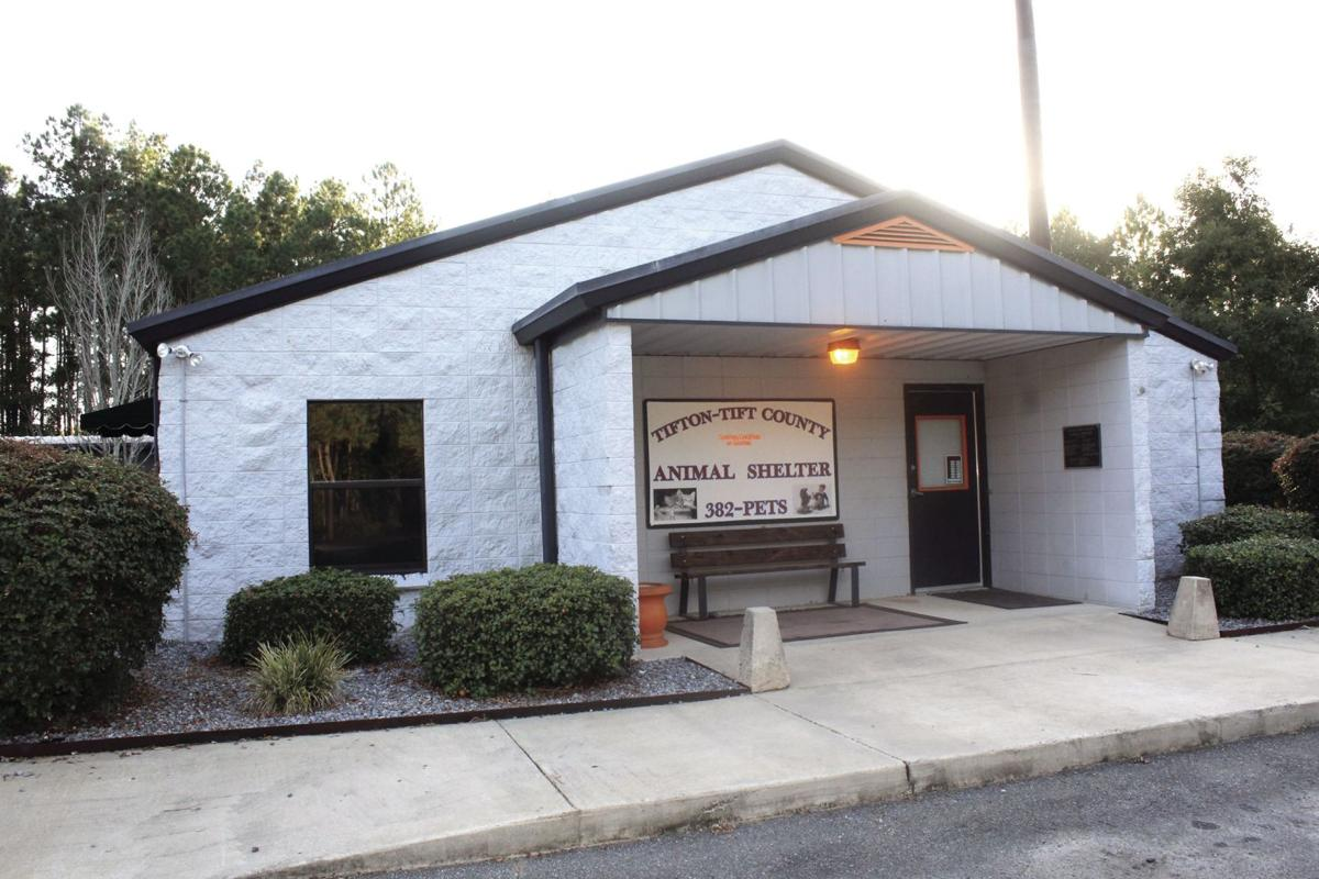The Tifton-Tift County Animal Shelter is open 1-6 p.m., Monday through Friday. It is located at 278 Hwy 125 South.