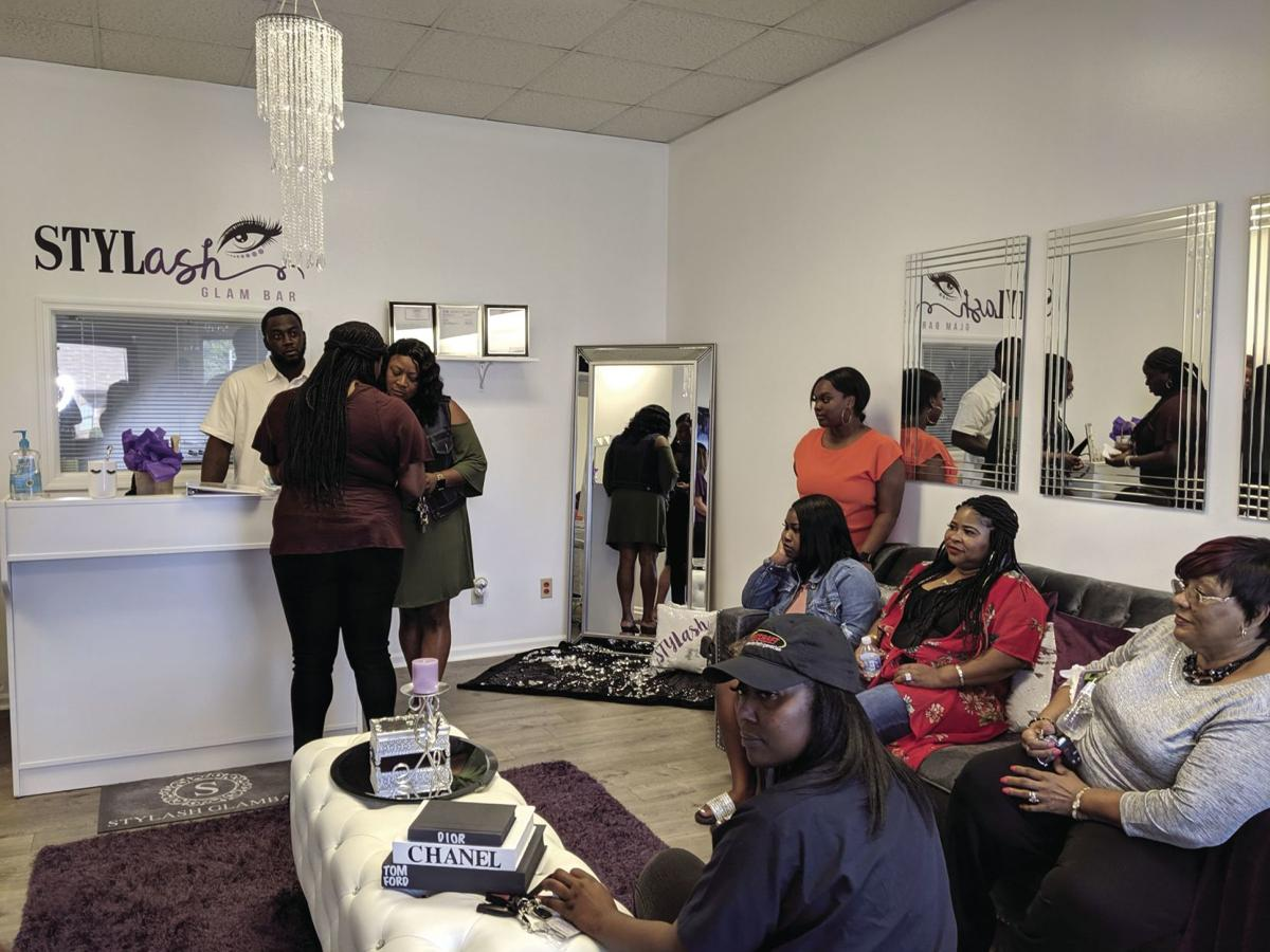StyLASH Glam Bar is located at 201 N. Central Ave.