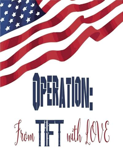 Residence Life and Housing personnel from Abraham Baldwin Agricultural College are collaborating with Eighth Street Middle School and Northeast Middle School in Tifton for Operation: From Tift with Love. The event collects donations for American troops stationed overseas