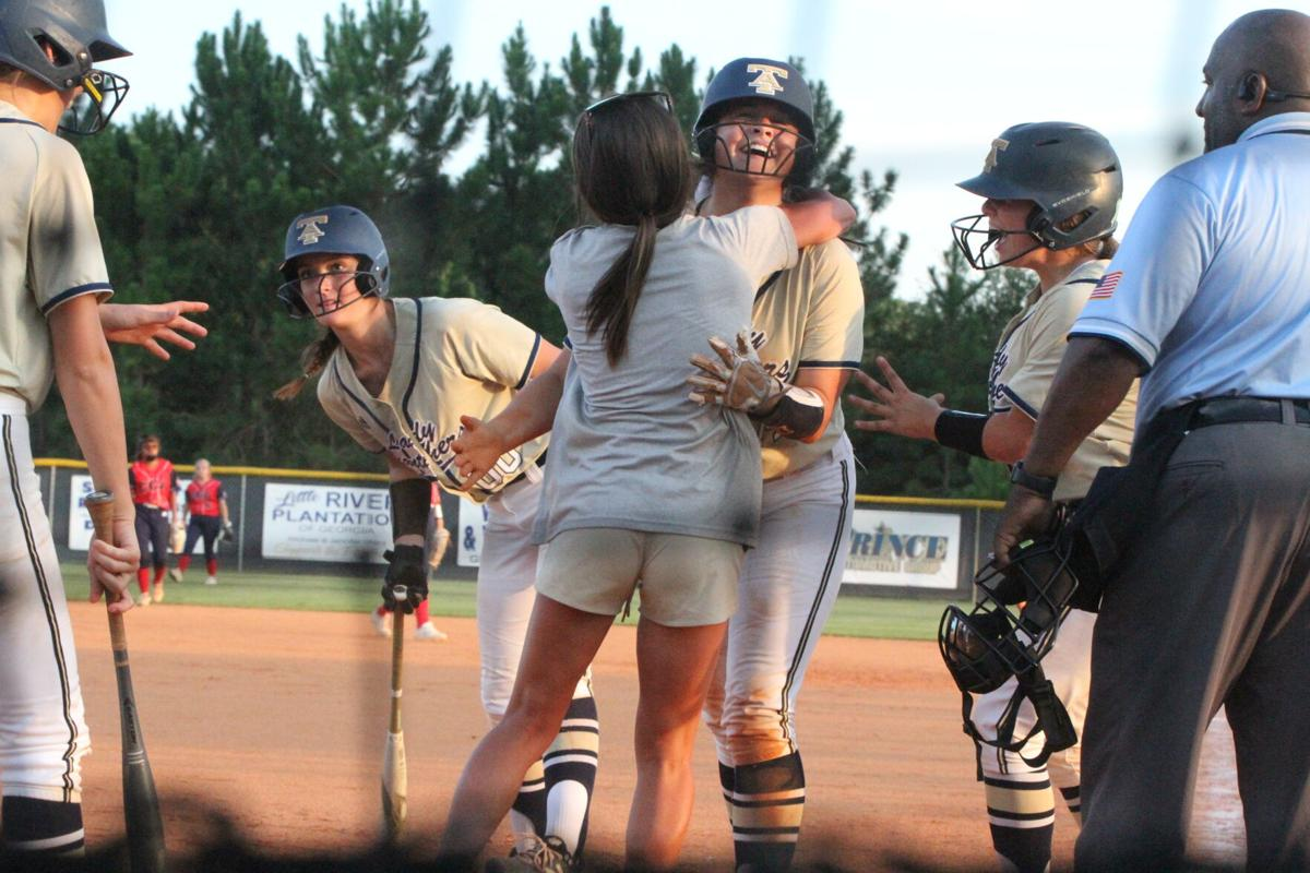 Strenth homers again, this time it's inside the park as Lady Panthers win