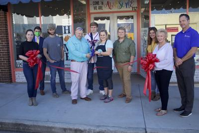 The Tifton Chamber of Commerce welcomed Gather Creative Studio DIY