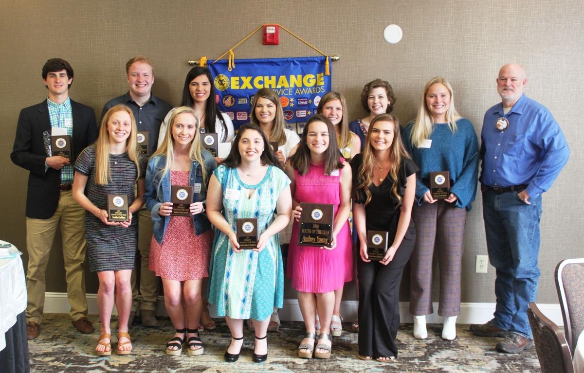 The finalists for Youth of the Year included: Lydia Connell, Emily Golden, Jordan Harbort, Reese Henderson, Hays Jones, Caroline McClain, Hayden Phillips, Frances Claire Raines, Haley Roberson, Spencer Shaw, Melanie Smith and Audrey Young.