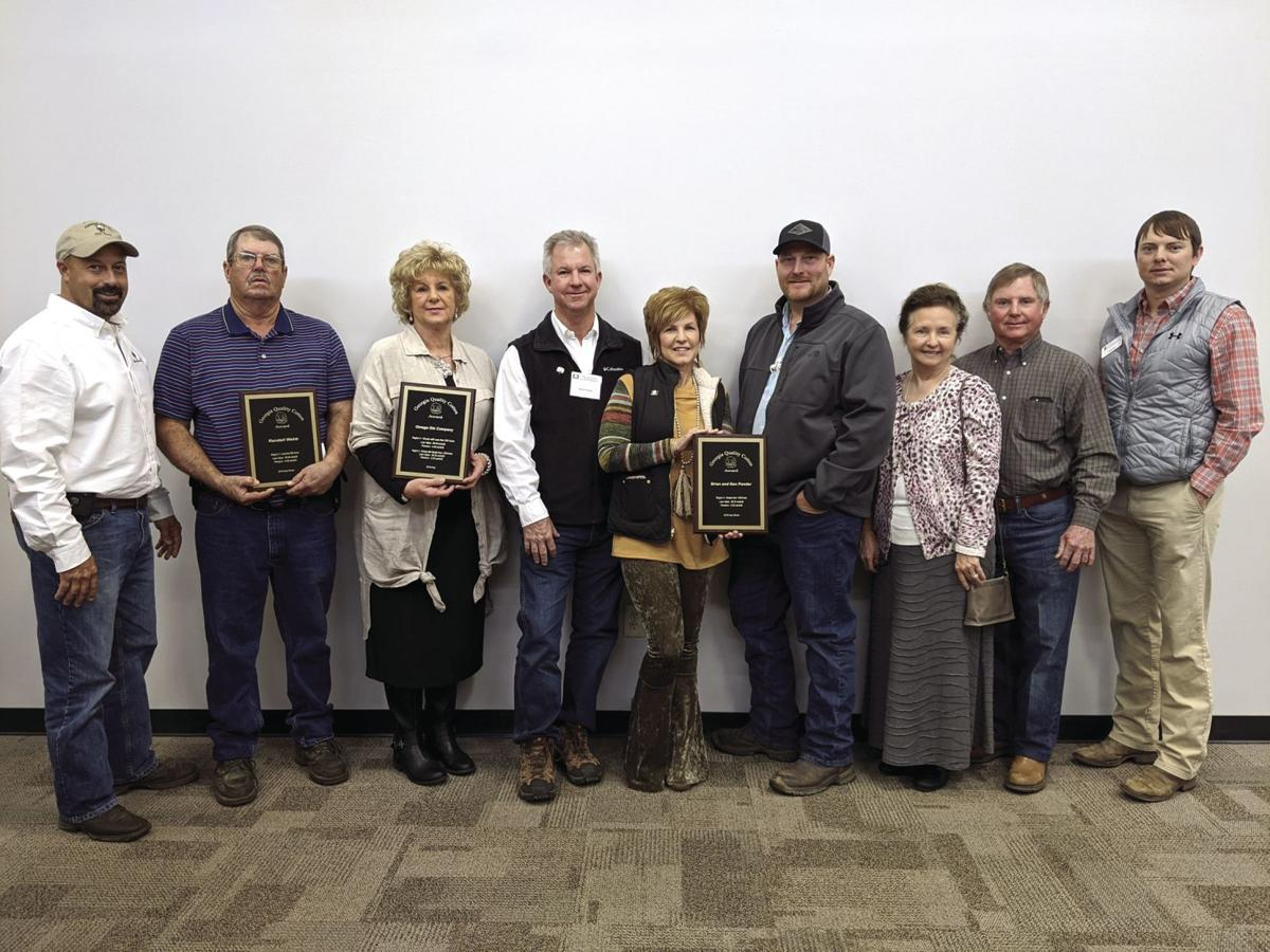 The award winners from Tift County included Randall Webb, the Omega Gin Company and Brian and Ken Ponder.