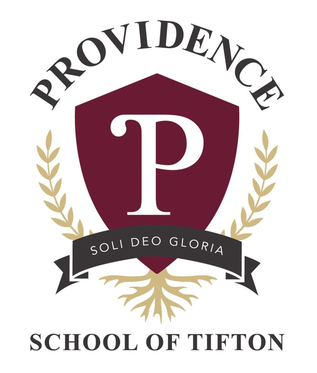 The Providence School of Tifton logo.