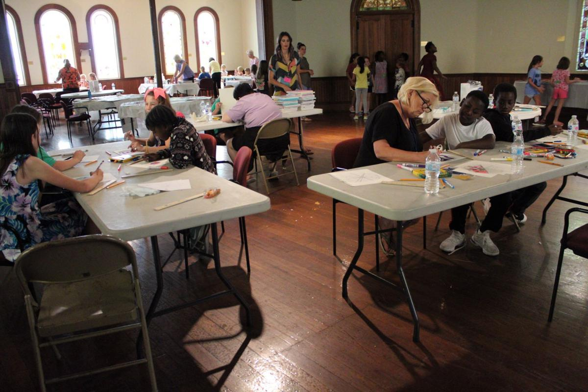 Tifton Museum of Arts and Heritage finishes up Kids Art Camp | News