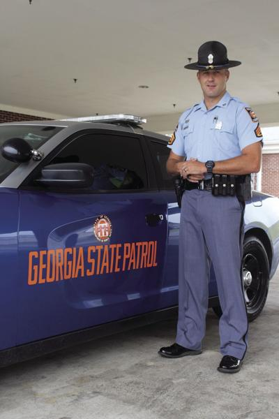 Sergeant First Class Peter Lukas is the post commander for Tifton's Georgia State Patrol post.