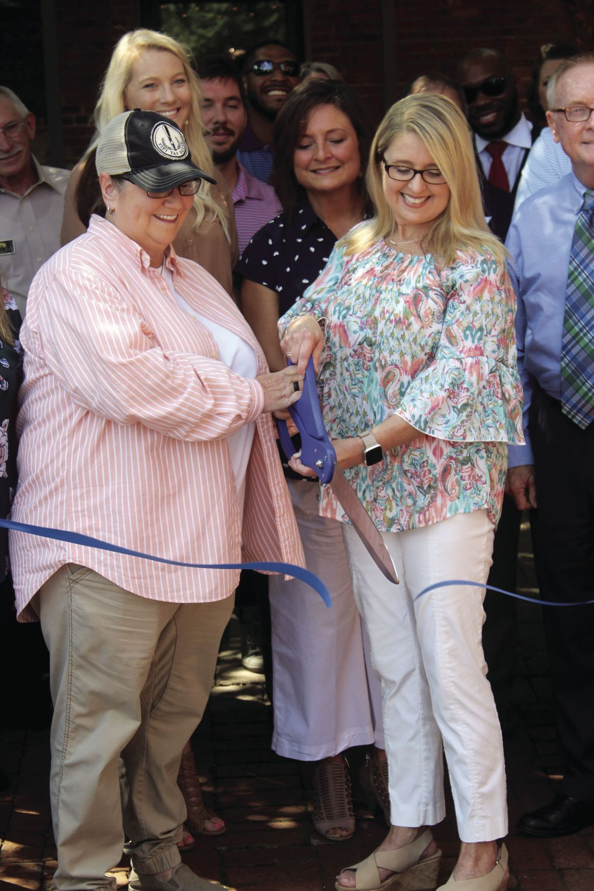 Owners Jackie and Michelle Green cut the ribbon on their long-time dream.