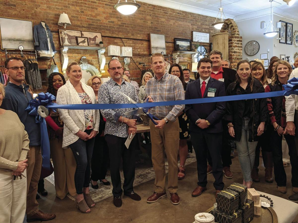 Simply Stated Boutique and Interiors held a ribbon cutting and grand opening celebration on Feb. 20 at the store, located at 219 Main St.