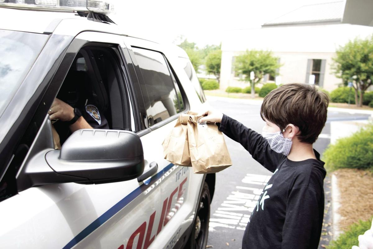 There was enough food left over to feed people from the Tifton Police Department, Tifton Fire Department, EMS, another nursing facility, nurses at Affinity Clinic and at the hospital's emergency room.