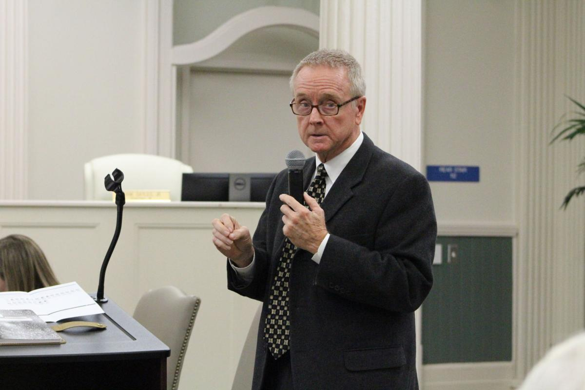 Bruce Green, principal of Bruce Green and Associates Consulting, presented the South Tifton Redevelopment Plan to the Tifton City Council.