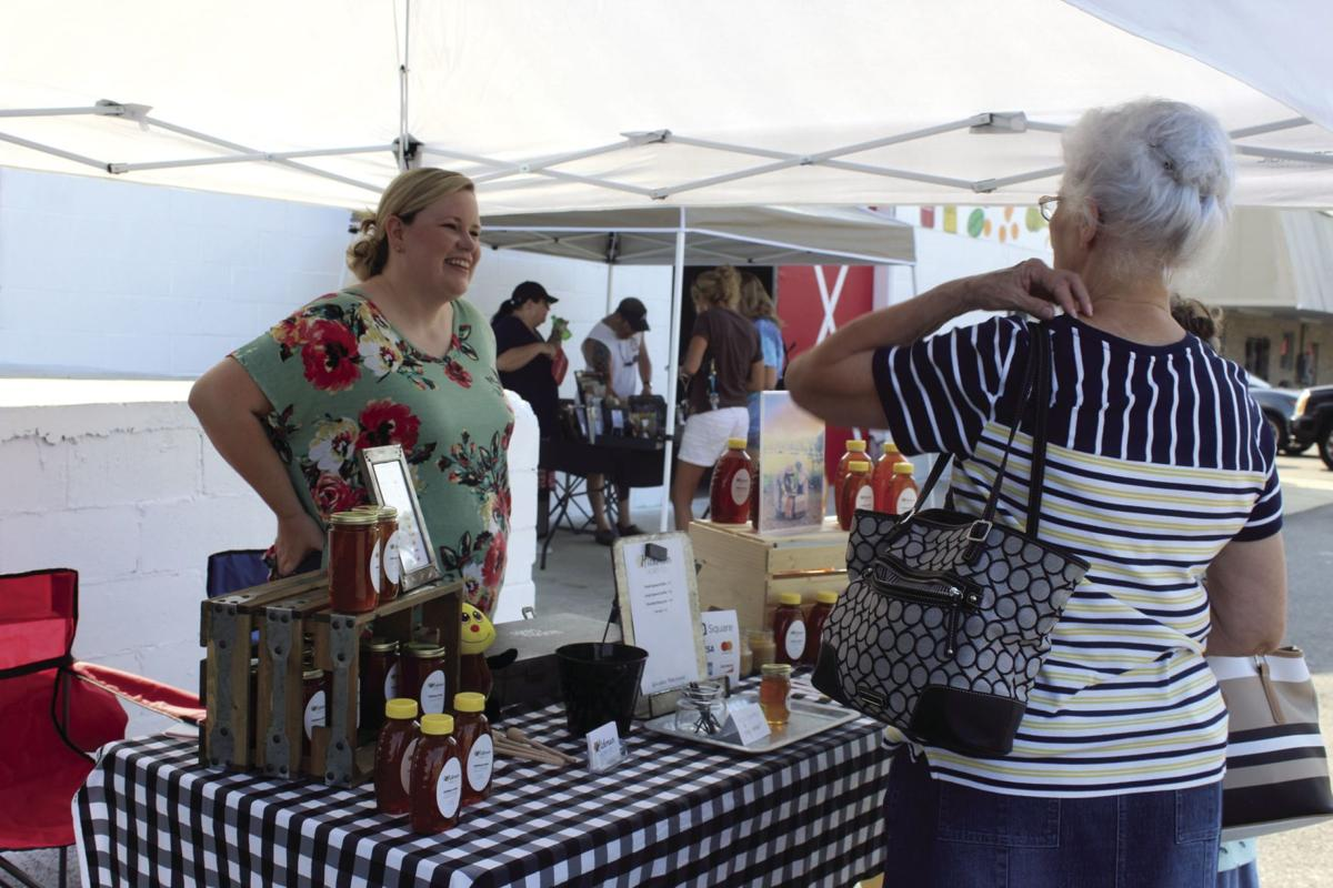 Hickman Honey Co. was one of the vendors at the first 41 South Farmers Market.
