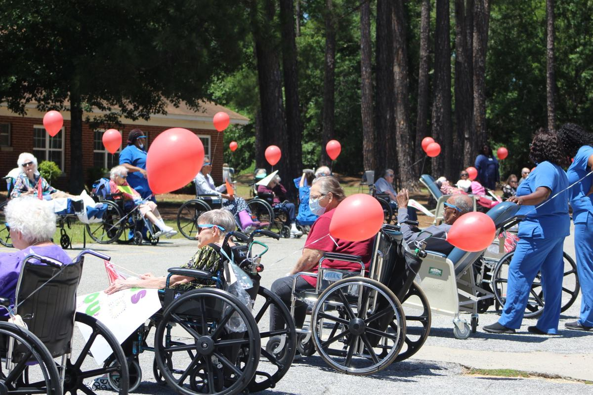 Rehabilitation Center of South Georgia holds parade to boost residents' spirits | Covid-19 | tiftongazette.com