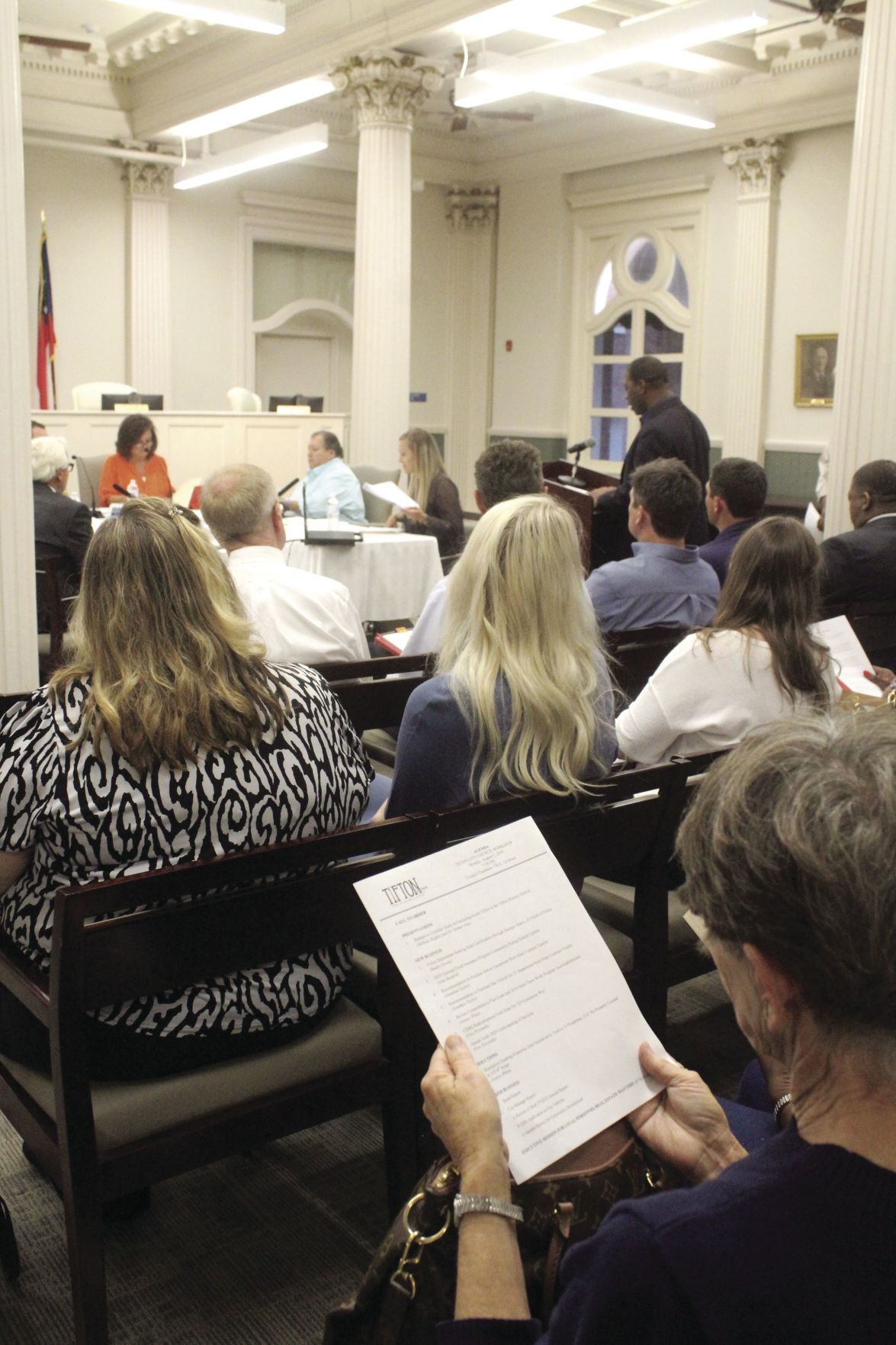 The Tifton City Council met on Aug. 5.