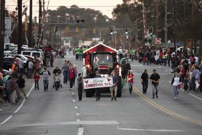 In this 2017 file photo, the Hometown Holidays celebration starts off with a parade.