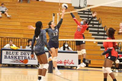 Lady Devils sweep Brooks County