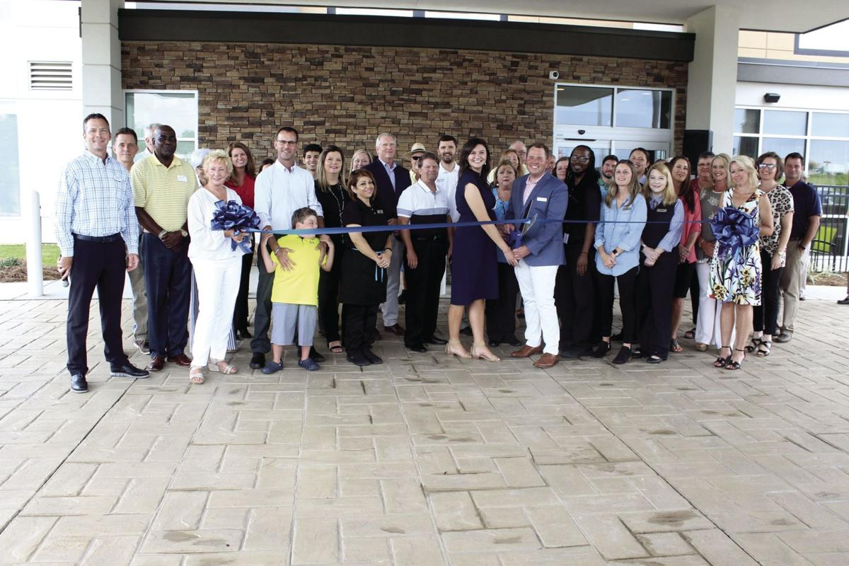 Springhill Suites hosted a ribbon cutting and Sunset Tifton event on June 6.