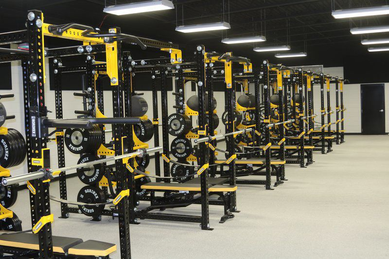 Weight rooms Valdosta High