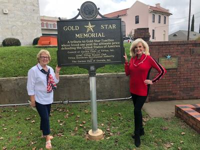 Gold Star Memorial Marker added to Downtown Tifton