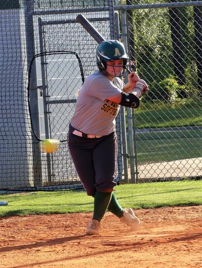 Fillies play in softball nationals