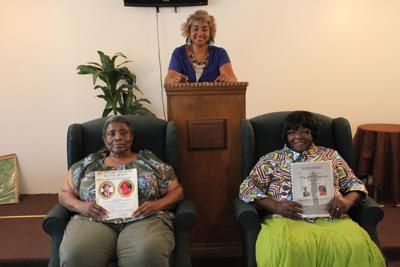 Event organizer Ruenette Melton (center) will honor Laverne Melton (left) and Caroline Taylor (right) at the banquet.