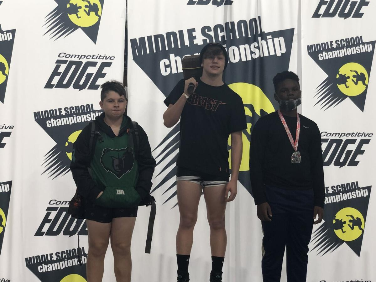 Middle school wrestlers place in Florida