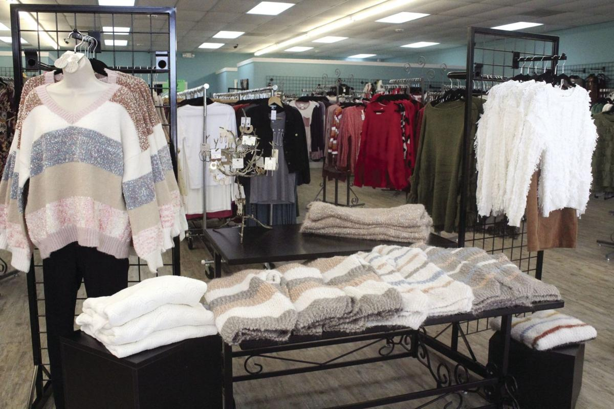 Ellie's Clothing Boutique specializes in stylish clothing and accessories for women and girls.