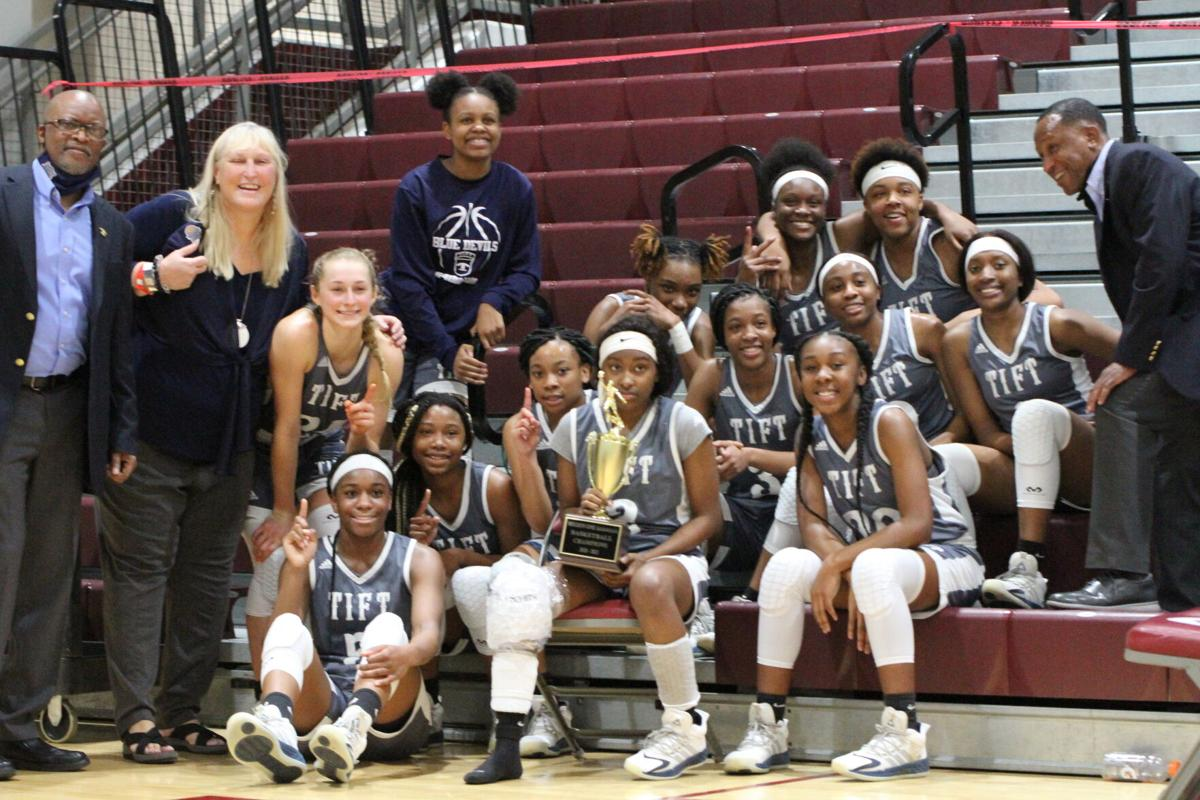 Tift County basketball teams explode to double region championship