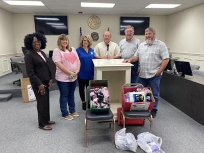 County Commissioner Melissa Hughes holds annual Sock Drive