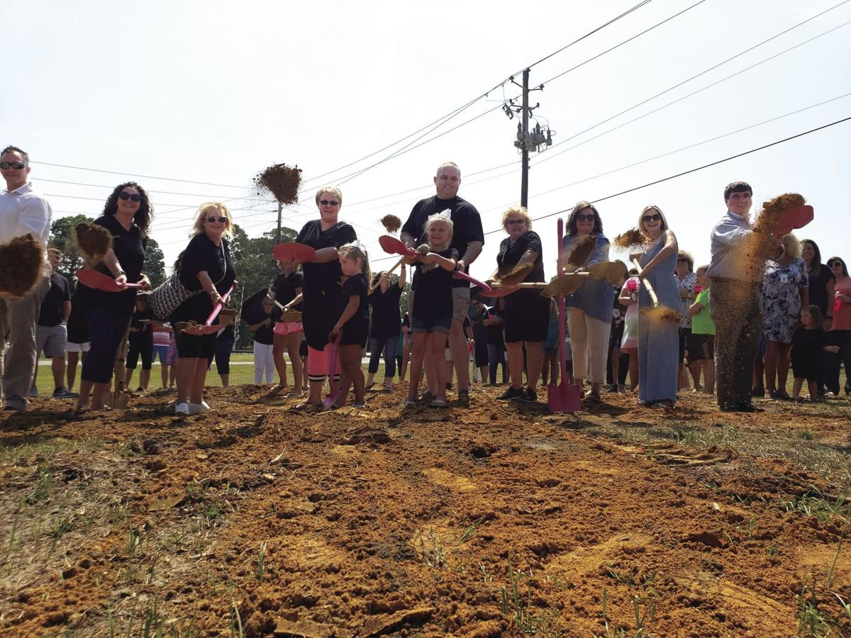 The Mallory Ward School of Dance broke ground at their new facility on Victory Drive.