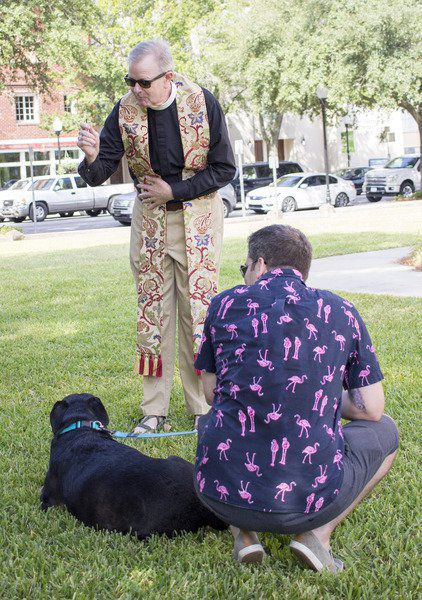 All Dogs Go to Heaven: South Georgia pets blessed downtown