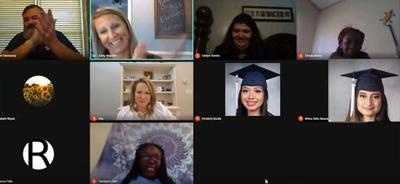 Eight students participated in a virtual Georgia Future Educators' Signing Day on May 5.