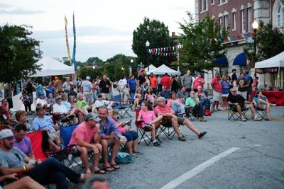 Rock the Block will take place on 1st Street in Tifton. This photo is from the 2017 event.