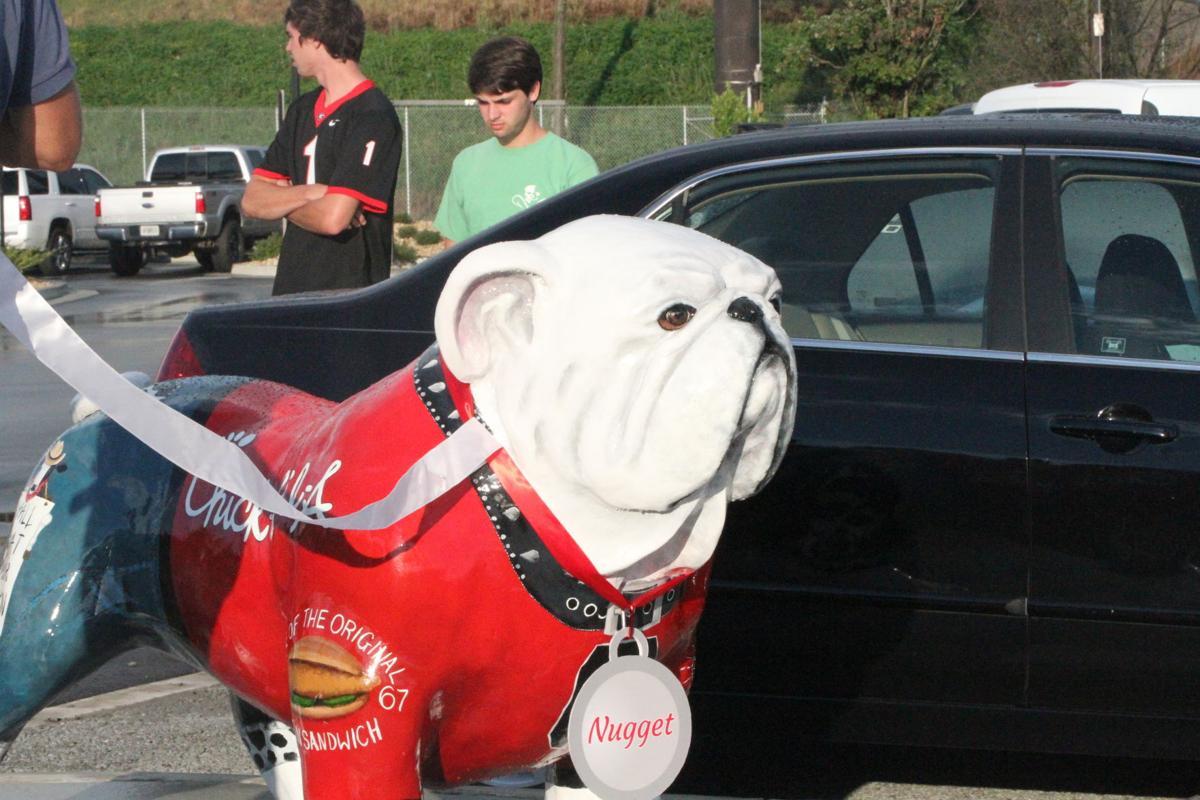 "A ""Nugget"" of a dog: Chick-Fil-A reveals UGA bulldog statue"