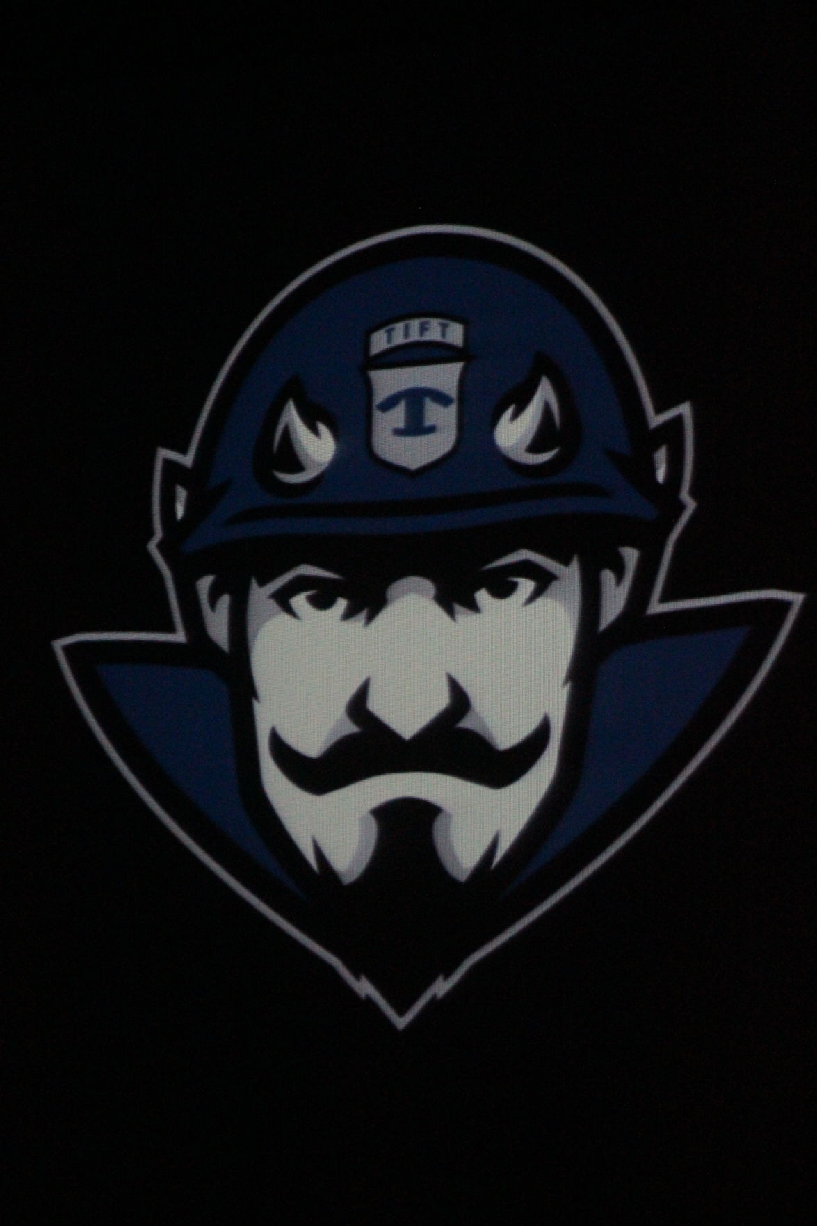 This new mascot image reflects the military history of the Blue Devils name.