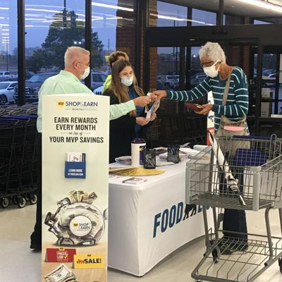 Food Lion opened their doors to business in the former Harvey's Supermarket