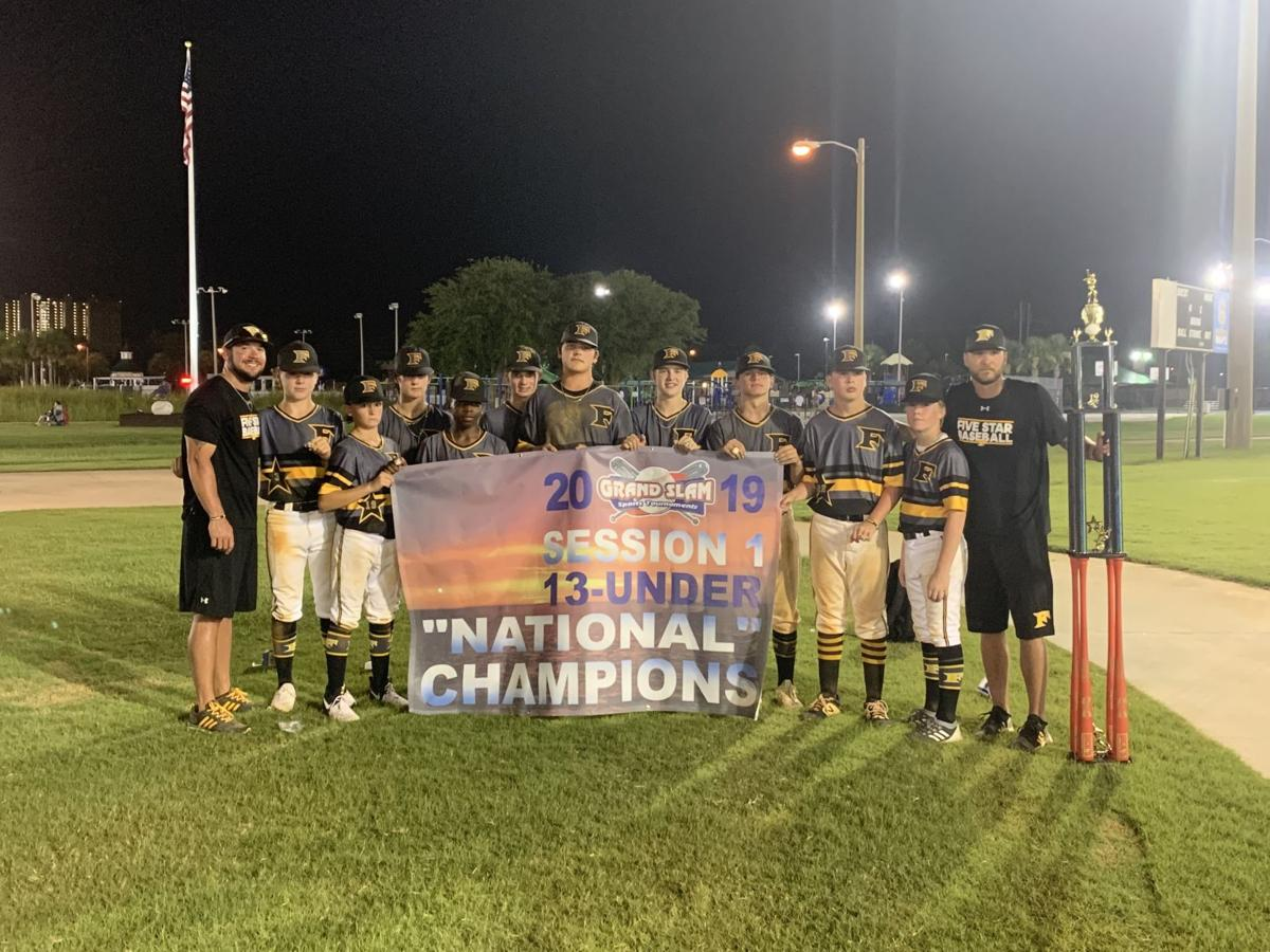 Five Star teams win baseball tournaments