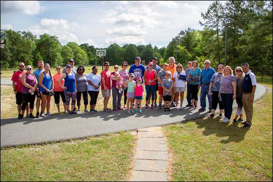 The Tift Regional Joint Replacement and Spine Care Cetner held an Ortho Walk on May 4 at the Tiftarea YMCA track.