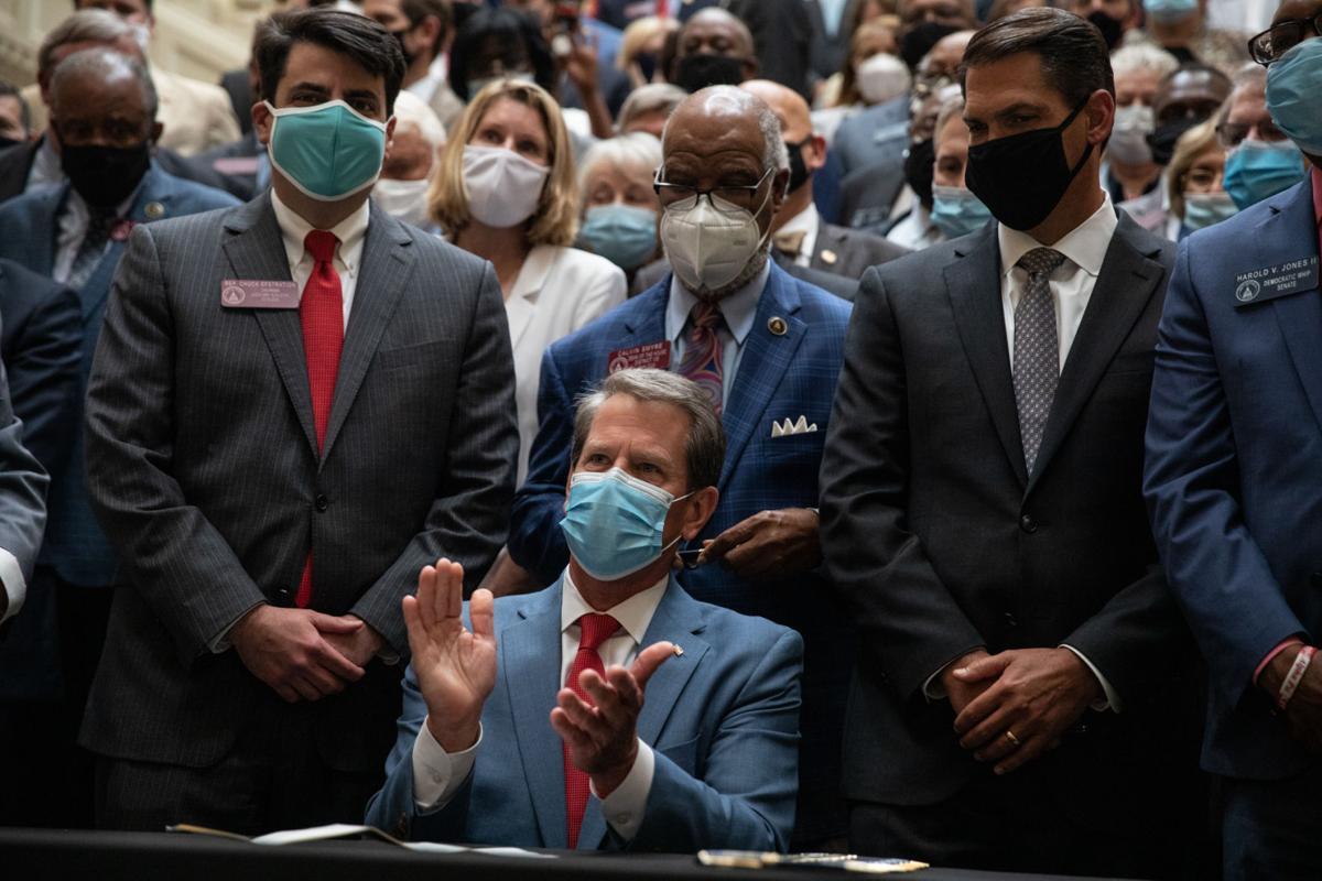 Gov. Kemp signs hate crimes bill