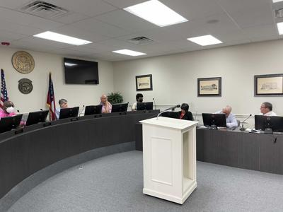 County Commissioners approve documents  effectuating Hospital Authority refunding revenue certificates