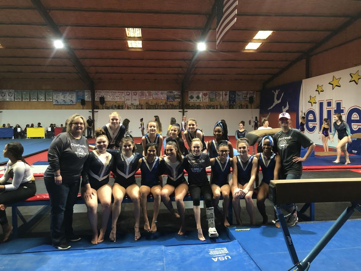Young Gym Devils Spring Into Action At First Meet Of Season Sports Tiftongazette Com
