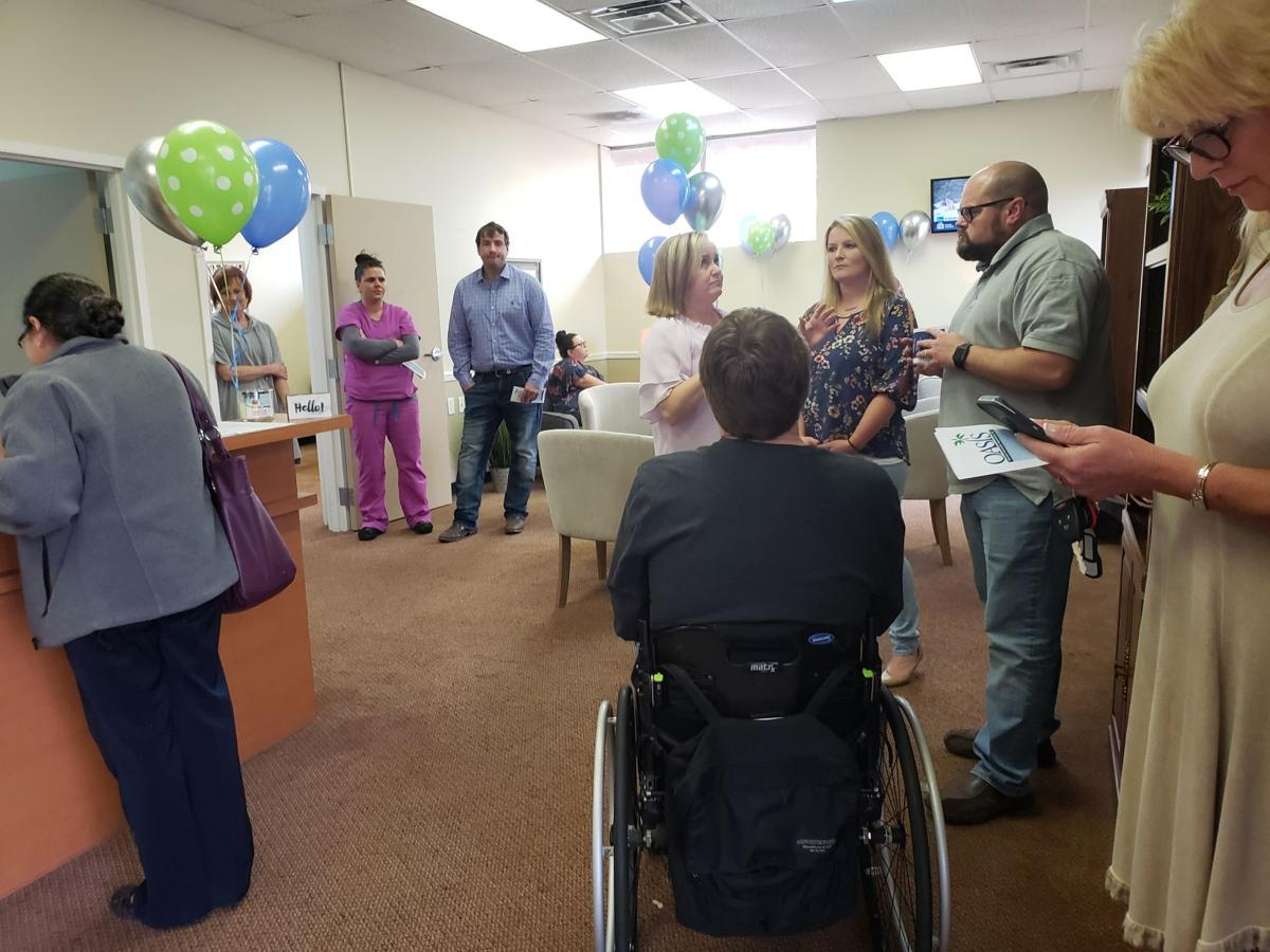 The grand opening brought out visitors to tour the center and find out what it does.