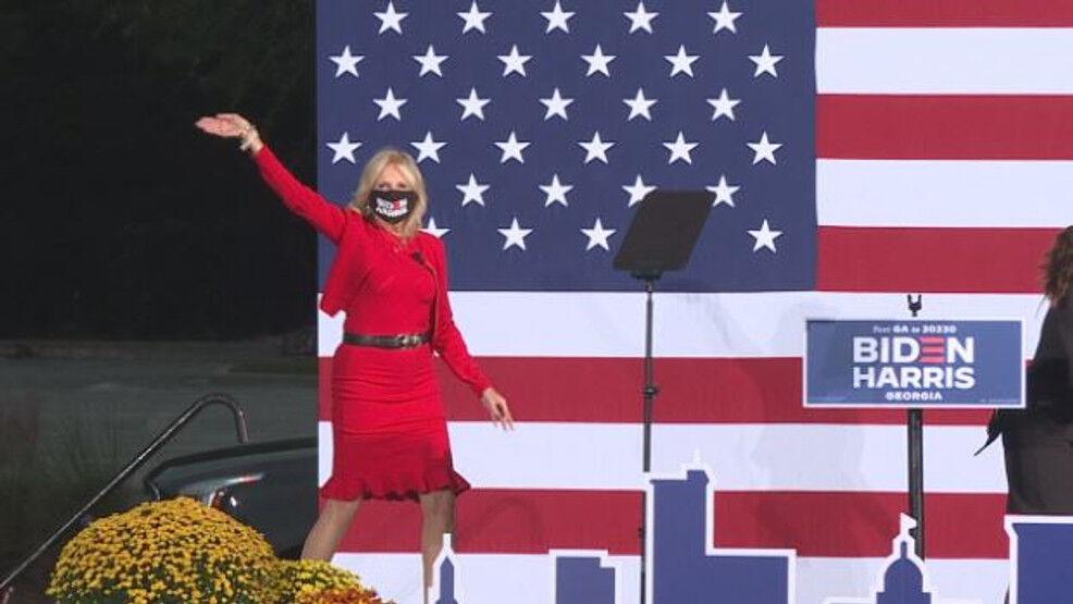 Jill Biden Speaking at SSU