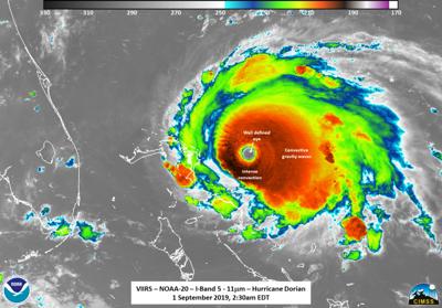 Hurricane Dorian heads toward Florida