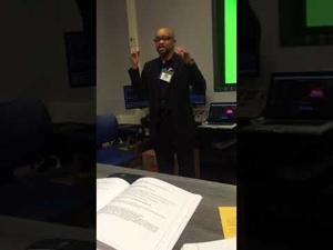 Southern Regional Press Institute: Green screen editing