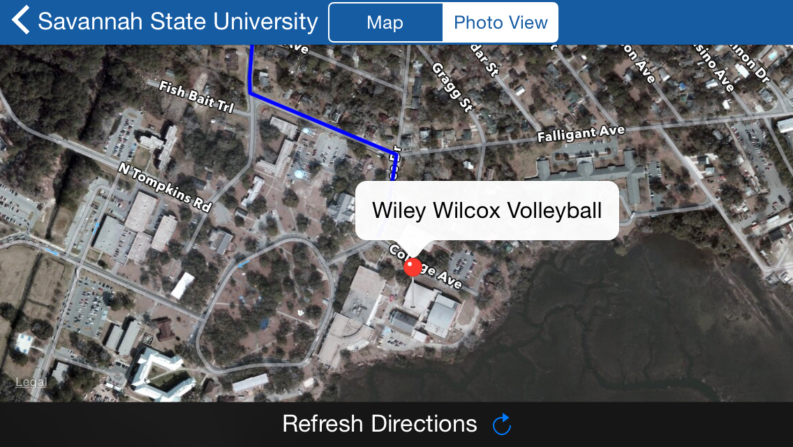 Campus Maps App Adds Savannah State To Database News Tigersroar Com