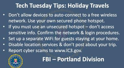 Tech Tuesday Tips: Holiday Travels