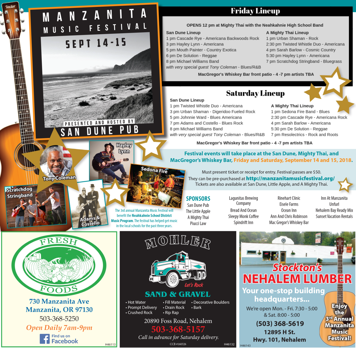 Manzanita Music Fest