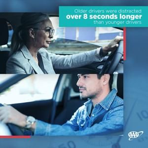 AAA Research: In-vehicle infotainment systems distracting to older drivers